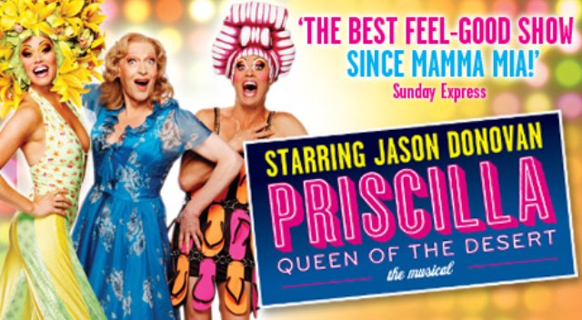 Priscilla Queen of the Desert tour poster